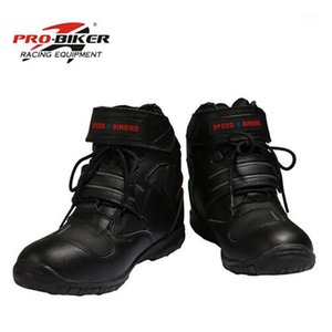 PRO-BIKER Breathable Motorcycle Boots Moto Shoes Non-slip Riding Racing Motocross PU Leather For Men Women1