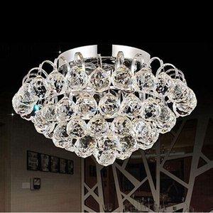 40mm Crystal Ball Prism Crystal Verre Lustre à billes Décorations suspendues à facettes Prmis Balls Billes de mariage Mariage Mariage Decor GWF6411