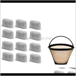 812 Cup Filter Set Of 12 Charcoal Water Filters Coffee Maker And Brewers Replaces For Cuisinart No4 Co 5J1Gt C6Epa