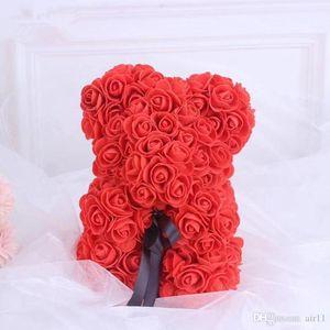 Fragrance Christmas Day Festives Gift Rose Bear Toys Stuffed Full Of Love Romantic Teddy Bears Doll 23CM Cute GirlFriend Children Eternal Present