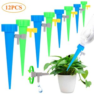 Sheer Curtains Drip 6 12 18pcs Irrigation Car System Automatic Spike for Plants Flower Inside Household Watering Bottle Drops