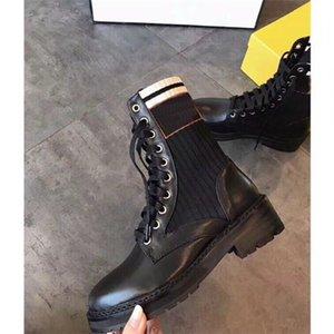 Роскошный дизайнер женские наполовину сапоги обувь зимний коренастый Med каблуки простые квадратные пальмы ног обуви дождевые ZIP женщин середины теленка добыча износа устойчивый к толщему бешеному ботинку A998