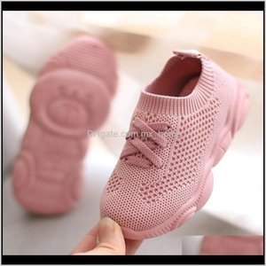 Athletic Outdoor Justsl Spring Autumn Childrens Sports Kids Net Breathable Sport Boys Girls Casual Soft Bottom Toddler Shoes 201118 Lg Seecz
