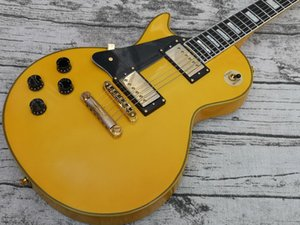 Custom High Quality Electric Guitar, Vintage Binding Over Frets, Gold Hardware