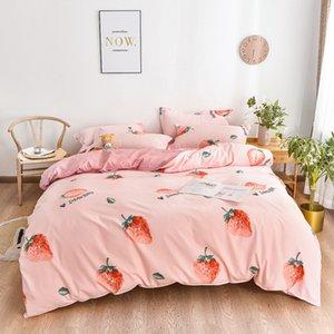 Duvet Cover Luxury Crystal Daisy sunflower plant and animal print Bedding Sets Velvet Bed Sheet 4pcs set Winter Linen Home Textile