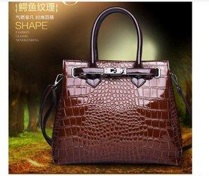 D121 Fashion Handbags Purse Totes Large Capacity Ladies Simple Shopping Handbag PU Leather Shoulder Bags