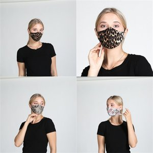 Leopard Print Foldable Face Mascherine Anti Dust Reusable Respirators Earloop Adjustable Mouth Masks Spring And Summer 5 3wh E2
