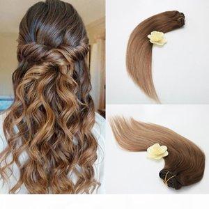 Cheap 100% Human Hair Clip 7Pcs 100g in Hair Extension Finest Quality Vrgin Raw Unprocessed Virgin Brazilian Hair