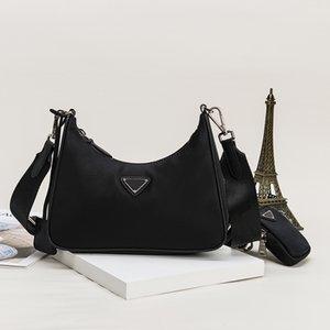 Женщины Luxurys Дизайнеры Сумки 2021 Грудная упаковка Lady Tote Цепи Сумки Messenger Рюкзак Нейлон Сумка по Crossbody Европейская и американская мода