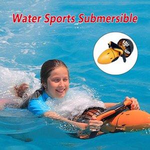 Открытое движение водяной бассейн морской скутер 300 Вт подводный двухскоростной пропеллер дайвинг оборудование спортивные аксессуары