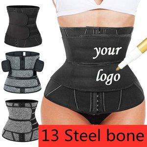 Custom Waist Trainer Neoprene Latex Belt Body Shapers Tummy Control Modeling Strap Slimming Cincher Corset Burning Girdle Women's