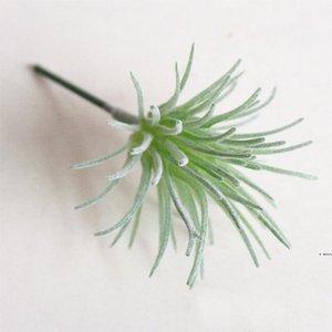 10pcs / Set faux Cactus Succules artificielles Simulation Plantes de Noël Ornements Décorations pour la décoration de la maison Faux plante HWD6077