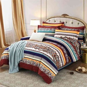 Sheets Pure cotton ethnic style 4-piece Bohemian all cotton bed sheet bedding
