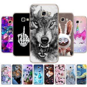 Cases For Galaxy A3 A5 A7 back Case soft tpu Cover 20 Phone cover FOR protective coque dog