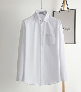Mens Designer Shirts Brand Clothing Men Long Sleeve Dress Shirt Hip Hop Style High Quality Cotton 2021New Arrival 089