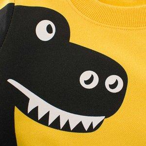 Children Sweater Winter Cartoon Clothes For Little Boys 2-7 Years Kids Dinosaur Sweater Tops Baby Autumn Soft Cute Outwear G0917