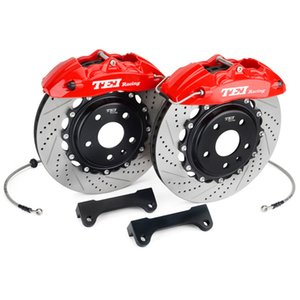 Brake Caliper Kit with 355x28MM Rotor 4 Piston Forged Body For FORD ESCAPE 18 Inch Wheel