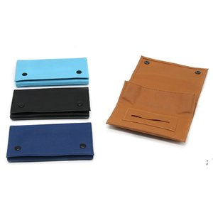 Tobacco Pouch Bag Pipe Cigarette Holder Smoking Paper Wallet PU Leather Storage Portable Rolling Cigar Case Moisturizing Bags OWC7336