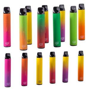 Factory wholesale PUFF XXL Disposable electronic cigarette Device 1600+ Puffs 18 Colors Bar Plus Xtra Vape
