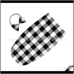 7Styles Bags Born Infant Blanket Kid Baby Sleeping Swaddle Printed Wrap Floral Headband 2Pcs  Lot 449 K2 Oyqu Lyz1A