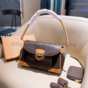1+2 High Quality 2021 Best luxurys designers bags Messenger Women Totes Fashion Bag Vintage printing Shoulder classic crossbody