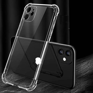 TPU PC transparent back cover, suitable for Iphone 12 Mini 11 Pro Max X XS 7 8Plus