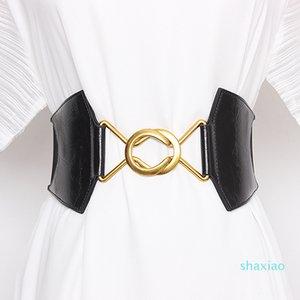 Ceinture de taille de taille plus Courroies de corset femme pour femme large Cummerbunds Designer élastique Femme de haute qualité