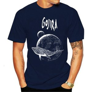 Gojira Flying Whale Mangas cortas grandes Moda T Shirt Drop Shirts