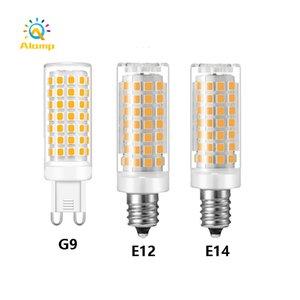 G9 E12 E14 E17 B15 LED light Bulb AC 110V 220V SMD2835 Super Bright Corn Lamp spotlight Chandelier Bulbs Warm White Cold White