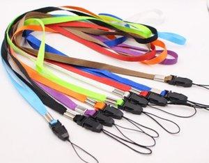 Lanyards Neck Strap For ID Pass Card Badge Gym Key   Mobile Phone USB Holder DIY Hang Rope Lariat Lanyard