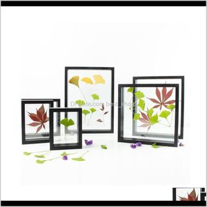 Rahmen und Formteile Kunsthandwerk Home Garten Drop Lieferung 2021 Hölzerner Floatrahmen für schwimmende Blätter Blumen Transparente Bilder Bilder di