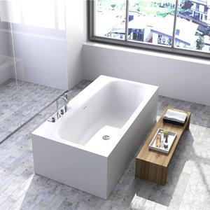 Hochwertige Badewannen Moderne Umweltschutz Acryl, Bad, klassischer Oval, europäischer Retro integriert in Matte oder Licht