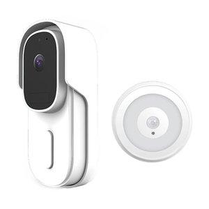 Doorbells Wireless Surveillance Door Bell Smart Wifi Video Doorbell 1080P Monitor Camera Home Security Welcome For Offices Apartment