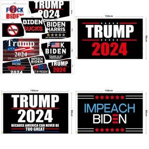 تصميم المهنية الأعلام خلفية سوداء الانتخابات العامة 2024 ترامب مستطيل بانر بايدن تيريلين ميكولي العلم 90 * 150 سنتيمتر 12LS Y2