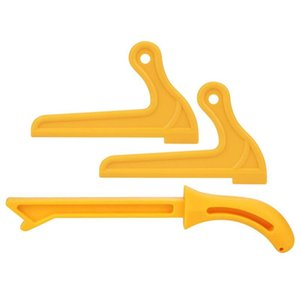 Hand & Power Tool Accessories 3Pcs Push Stick 1Pc T1 2Pcs V-Type T2 Protection Sawdust Wood Router Saw Blade Sticks Set For Carpentry