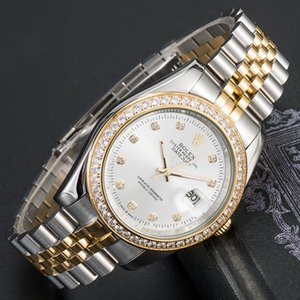 rolex 2021 montre de luxe mens automatic mechanical watch silver strap Sapphire glass full stainless waterproof wristwatch lady gold watches
