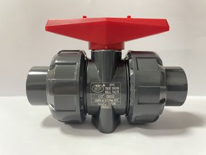 UPVC True Union Ball Valve with EPDM O-Rings Rated at 150 PSI DIN 1 2