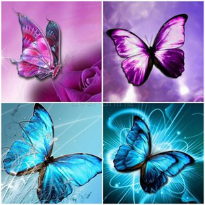 5D Diamond Painting Full Square Butterfly Cross Stitch Diamond Embroidery Animals Sale Handwork Art Decoration HomeFree shipping by air