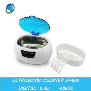 0.6L JP-890 Digital Ultrasonic Cleaner Cleaning Machine Baskets Jewelry Watches Dental Nail Ultrasound Bath Art Equipment