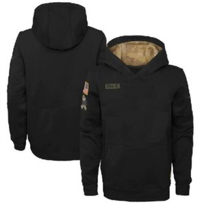 Men Jacket Hoodies Sweatshirt Salute to Service Sideline Performance Pullover Hoodie All Teams Black Football Jerseys a0