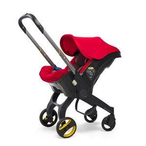 4in1 Autositzwagen geborener Babywagen Bassinet Wagen tragbares Reisesystem mit Kinderwagen #
