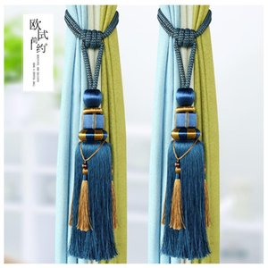 Novelty Items Modern Minimalist Curtain Bandage Hook Hanging Ball European Rope Strap Buckle