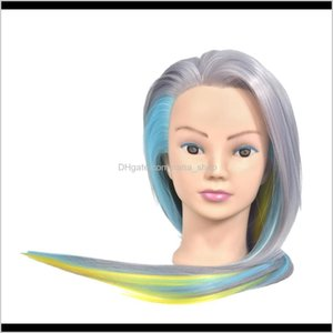 Heads Diy Long Mannequin Hair Train Practice Styling Doll Head Model Erpgy Vsfhu
