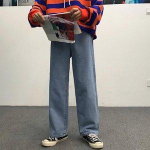 Men's Jeans Korean Ins Classic Direct Stretch Dark Blue Business Casual Denim Pants Slim Straight Long Trousers Gentleman Cowboy