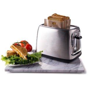 5 قطع نخب حقيبة للأكياس الخبز المشوية الخبز ساندويتش تخزين reusable غير عصا خبز ميكروويف أداة هدية التفاف