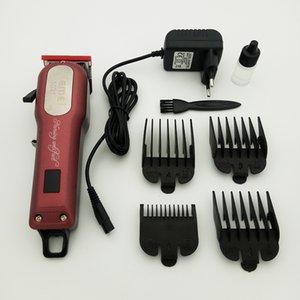 Km-1031 cabelo sem fio clipper beard trimmer poderoso barbeiro barbeiro com 4 guia de pente de guia ferramentas
