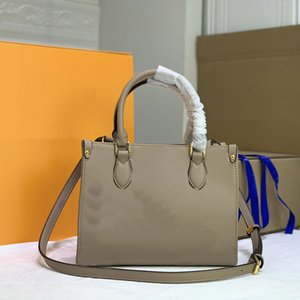 어깨 가방 크로스 바디 가방 클래식 편지 패턴 고품질 작은 토트 쇼핑 hangbags 지갑 패션 여자 정품 가죽