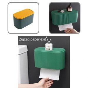 Tissue Boxes & Napkins Container Useful Phone Tray Toilet Paper Holder Box Self Adhesive Multi-purpose Organizer