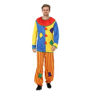 New Halloween cosplay Costume clown perforce costume masquerade ball Clown Suit