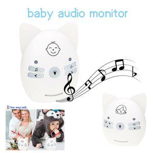 Baby-Monitor Babysitter Radio Nanny Baby Sound Walkie Talkie Wireless Audio Bebe Child Monitors Nanny monitoring devices V30